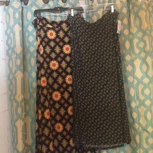 NWT Size XL Lularoe Maxi dress/skirt